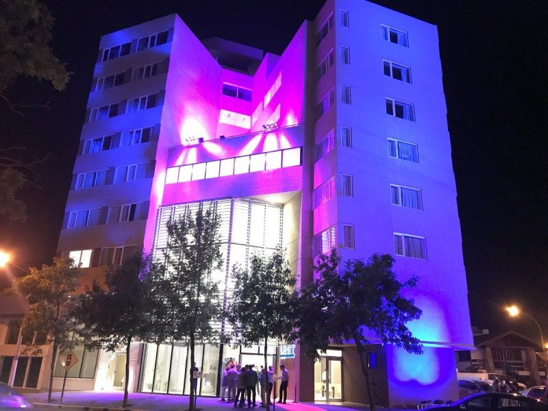 El hotel tiene 72 habitaciones de categoría tres estrellas superior.