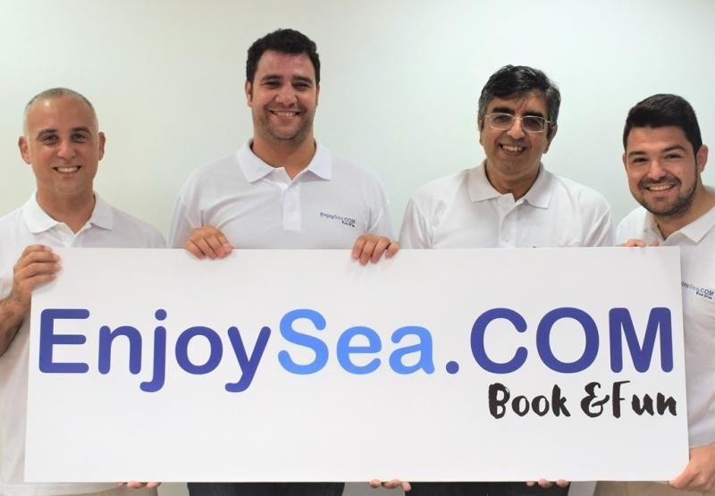 Los emprendedores de EnjoySea.com, que quieren convertirse en el Booking de las actividades de ocio náutico.