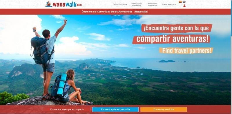 En Wanawalk ponen en contacto a usuarios para compartir viajes y conseguir que las personas no se queden sin viajar sólo porque no tengan con quien hacerlo.