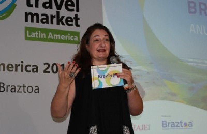Magda Nassar, presidenta de Braztoa, anunció la decisión de la asociación.
