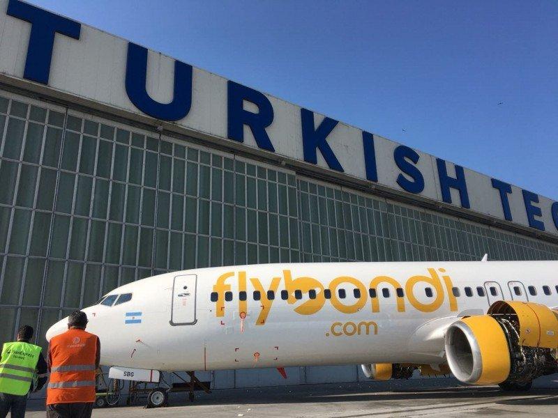 ANAC certifica el segundo avión de Flybondi