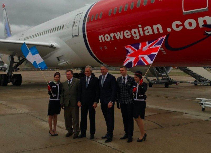 Norwegian estrena su ruta Londres-Buenos Aires