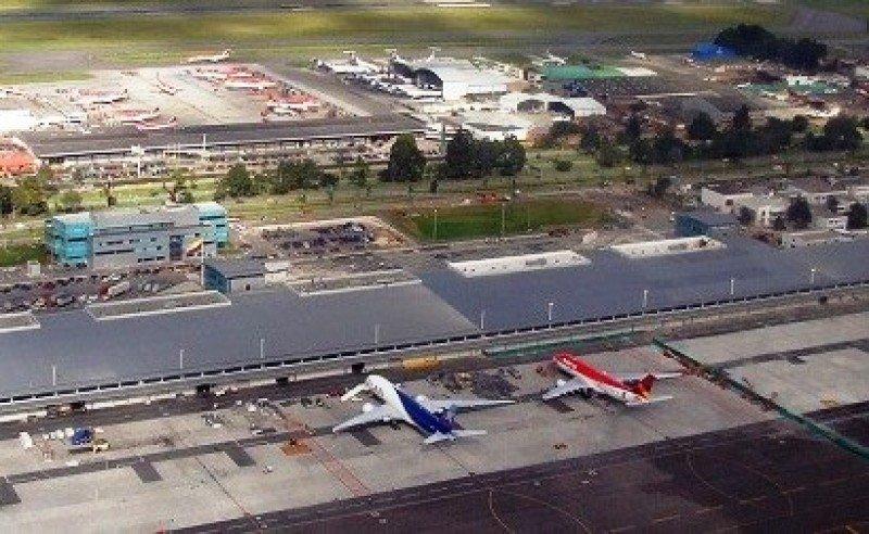 Aeropuerto ElDorado de Bogotá. Foto: AeroColombia.