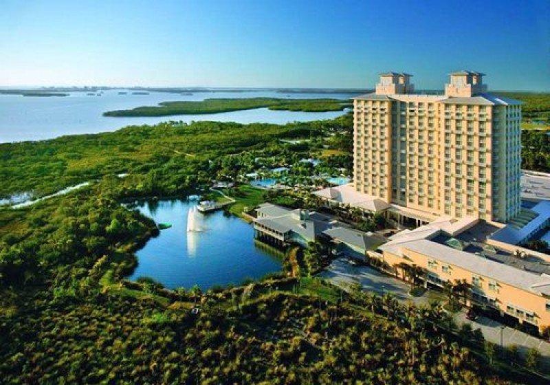 Hyatt Regency Coconut Point Resort and Spa.