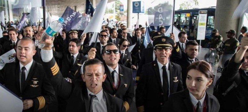 Avianca iniciará procesos disciplinarios contra líderes de huelga de pilotos