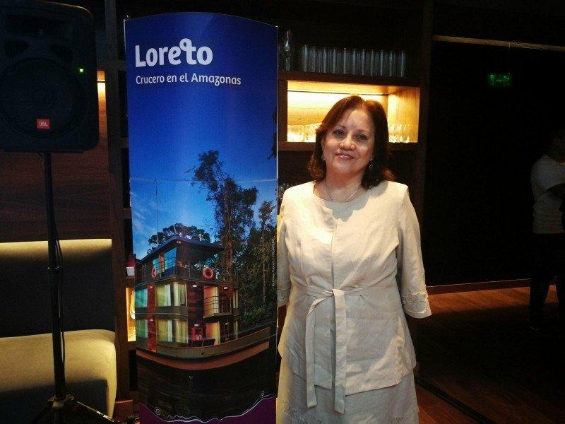 Silvia Seperack, directora de la nueva oficina Comercial de Perú en Argentina.