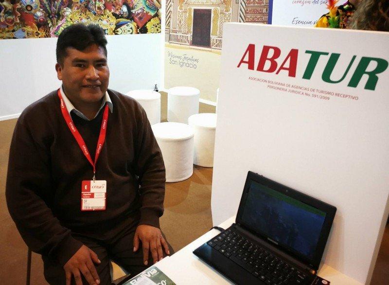 Víctor Quispe, presidente de ABATUR.