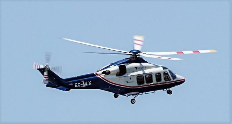 El helicóptero sustituye a los barcos en el Estrecho