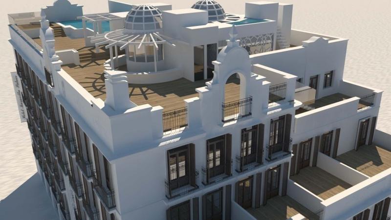 El Hotel Maravilla Palace se ampliará y renovará con 15 M € de inversión