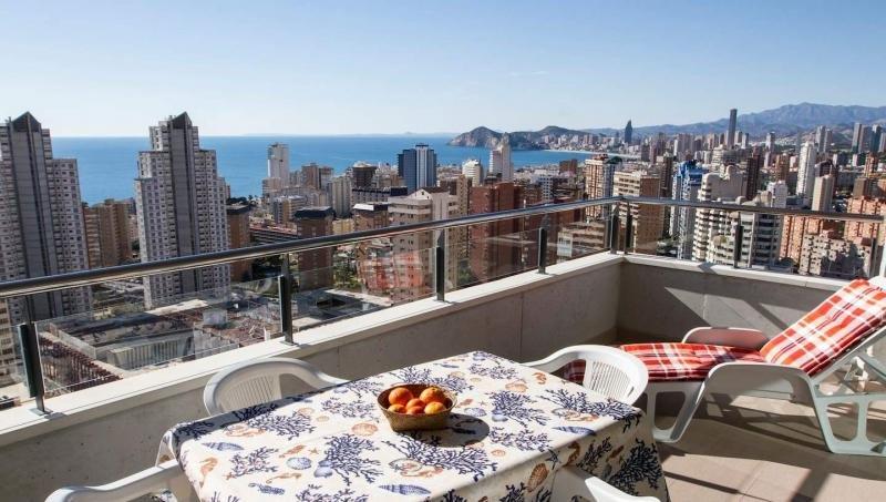 Apartamento en Benidorm anunciado en Airbnb.