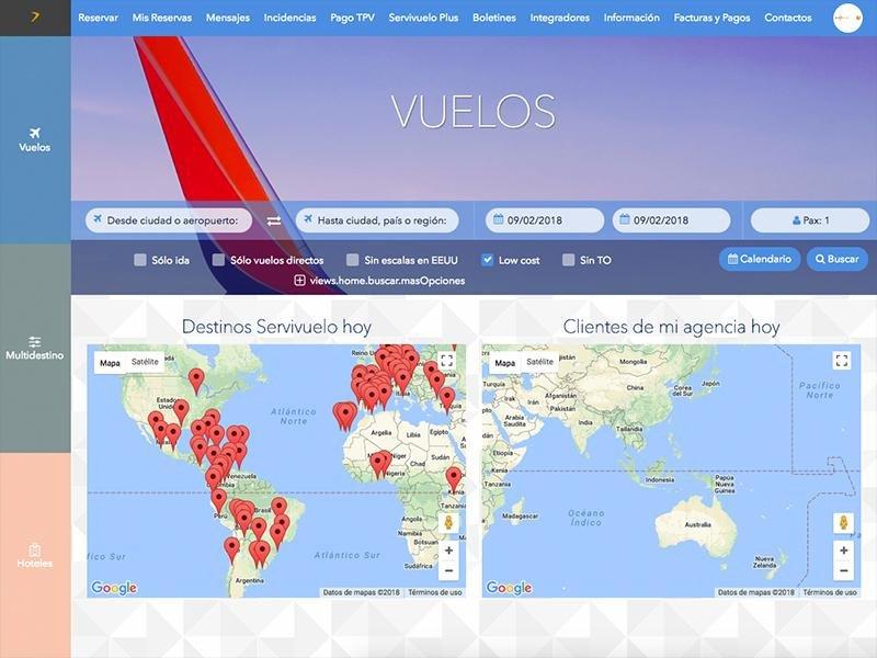 Webinar: Ventajas de la plataforma Servivuelo