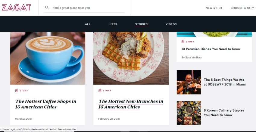 Google vende la web de comentarios online Zagat