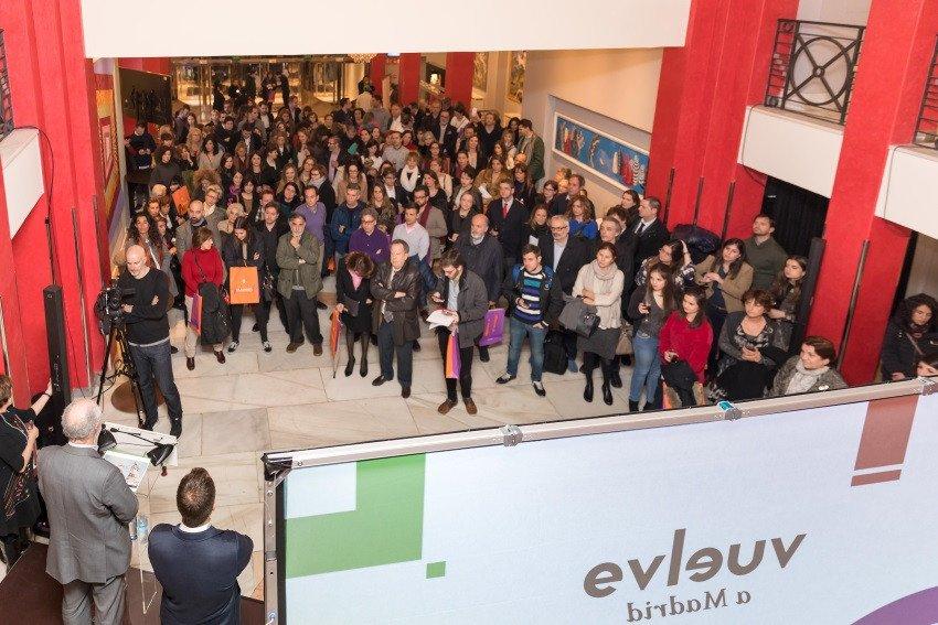 Destino Madrid congregó a los medios de comunicación y a empresas colaboradoras del programa en el Teatro Coliseum de la capital de España.