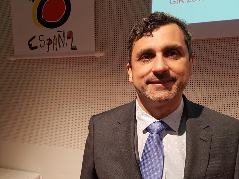 Arturo Ortiz, director de la Oficina Española de Turismo en Berlín.