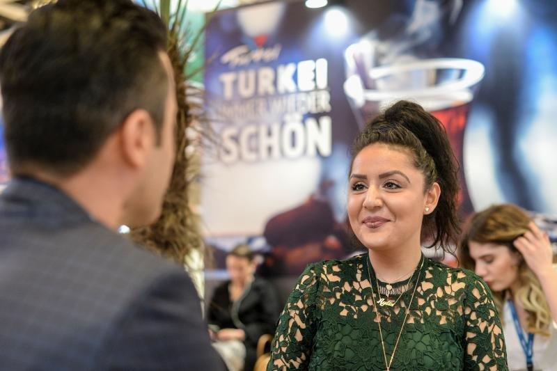 Stand de Turquía en ITB 2018.
