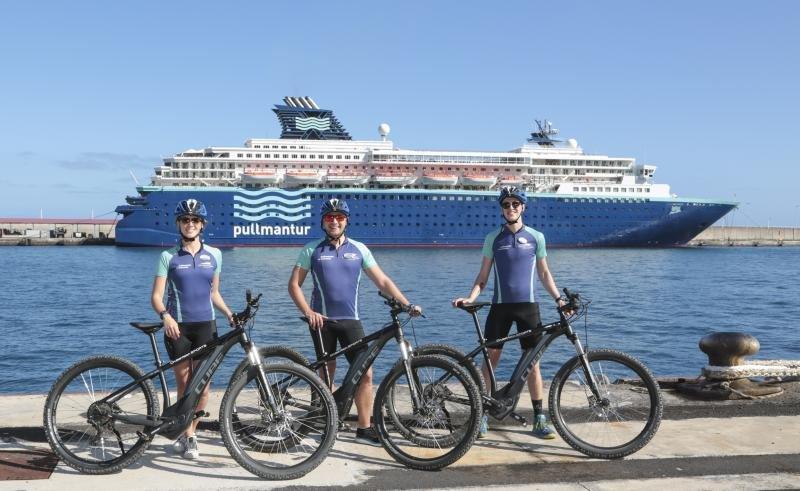 Canarias en bicicleta eléctrica y otras propuestas para un crucero ecológico