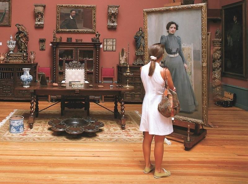 El Museo Sorolla recibió 255.047 visitantes en 2017.