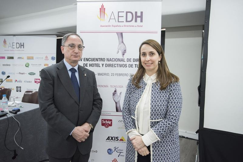 Nueva gerente de la Asociación Española de Directores de Hotel