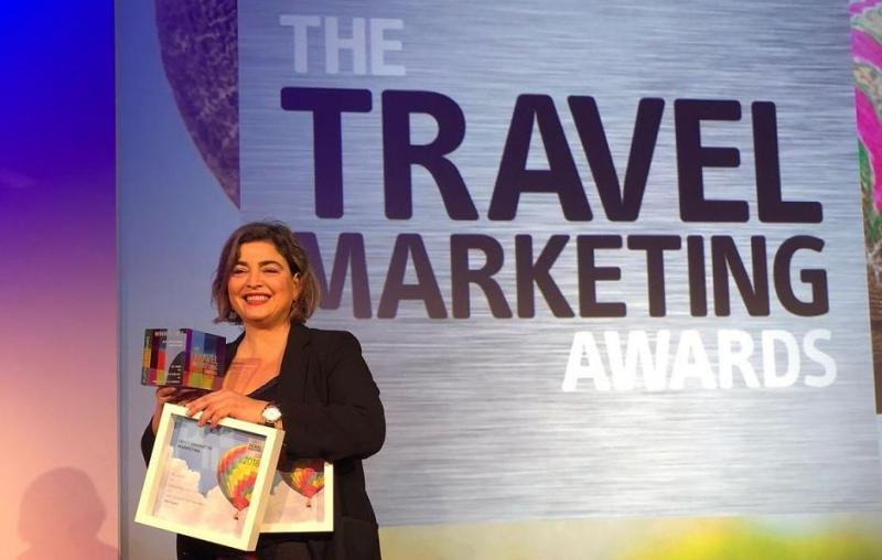 María Méndez, directora gerente de Promotur Turismo de Canarias, ha sido la encargada de recoger los premios de The Travel Marketing Awards.