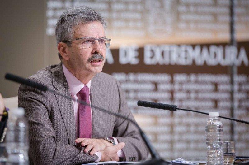 José Luis Navarro, consejero de Economía e Infraestructuras de la Junta de Extremadura.