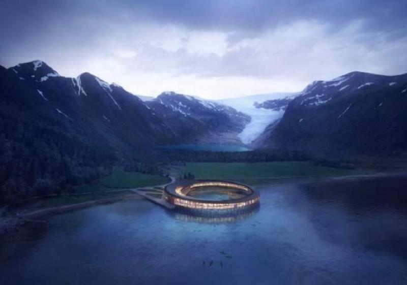 Svart, el hotel circular y sostenible que construirán en el Ártico