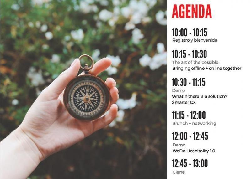 Agenda del evento organizado por Oracle para este jueves en Madrid.