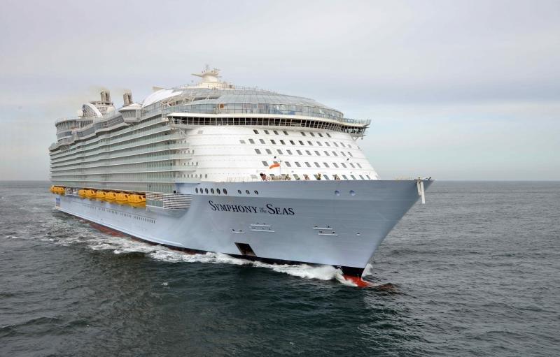 Symphony of the Seas comienza a navegar con base en Barcelona