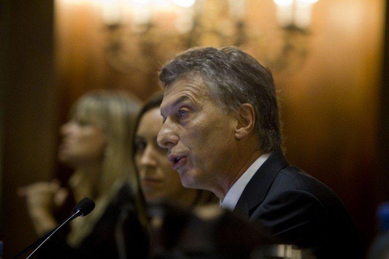 Mauricio Macri (Foto de archivo)