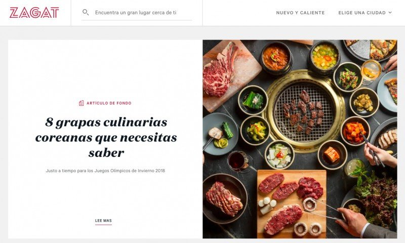 Google vende Zagat a la firma de reseñas de restaurantes The Infatuation