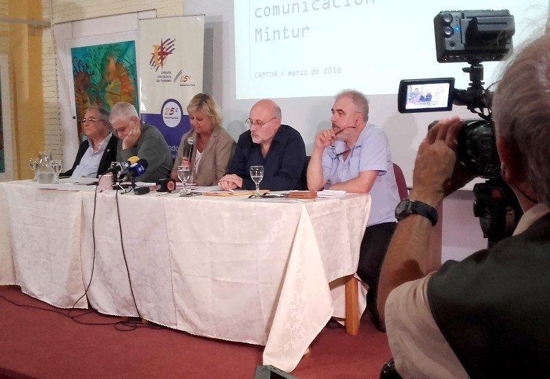 Reunión de la Cámara Uruguaya de Turismo este lunes en Punta del Este. Foto: J. Lyonnet
