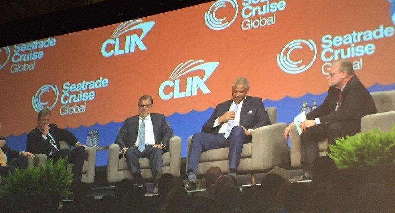 Los CEOs de las principales empresas de cruceros expusieron sus proyecciones en Seatrade Cruise Global.