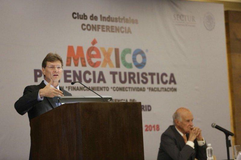 Enrique de la Madrid, secretario de Turismo de México.