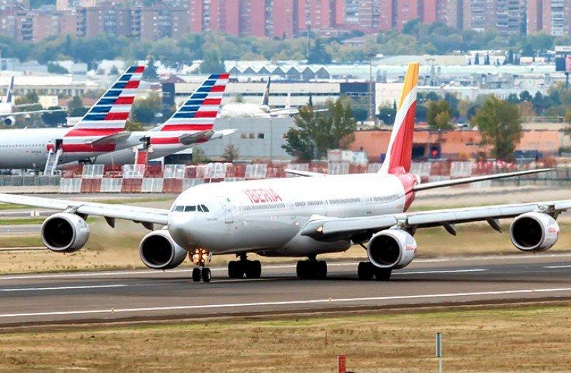 Los A340-600 de Iberia tienen capacidad para 346 pasajeros.