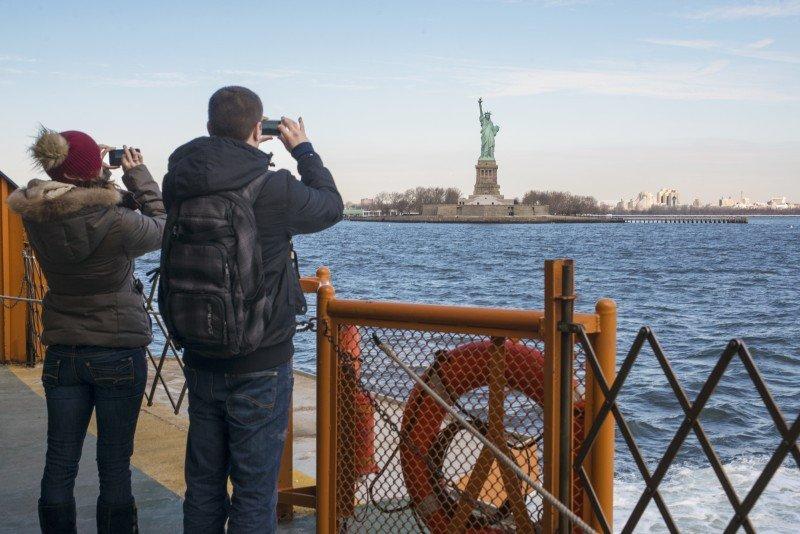 La ciudad rompió su récord turístico por octavo año consecutivo. (FOTO: NYC