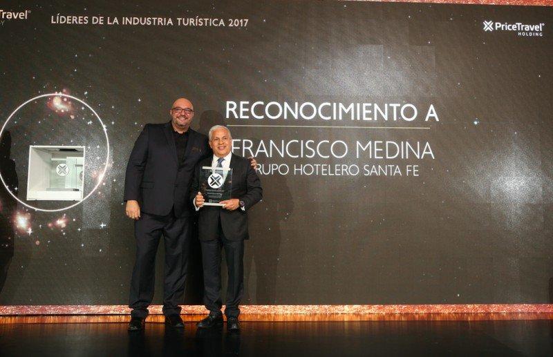 El Director General Adjunto de la cadena, Francisco Medida Elizalde, elegido Líder de la Industria Turística 2017.