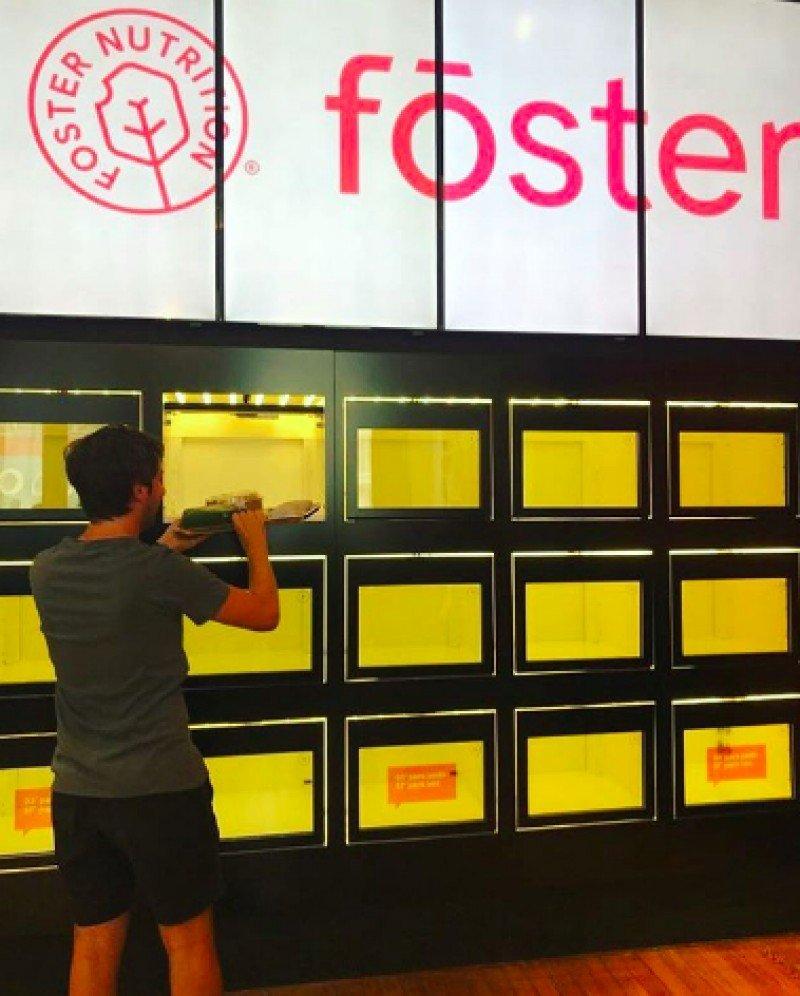 La comida se entrega en 'Smart box' con el nombre de cada cliente.