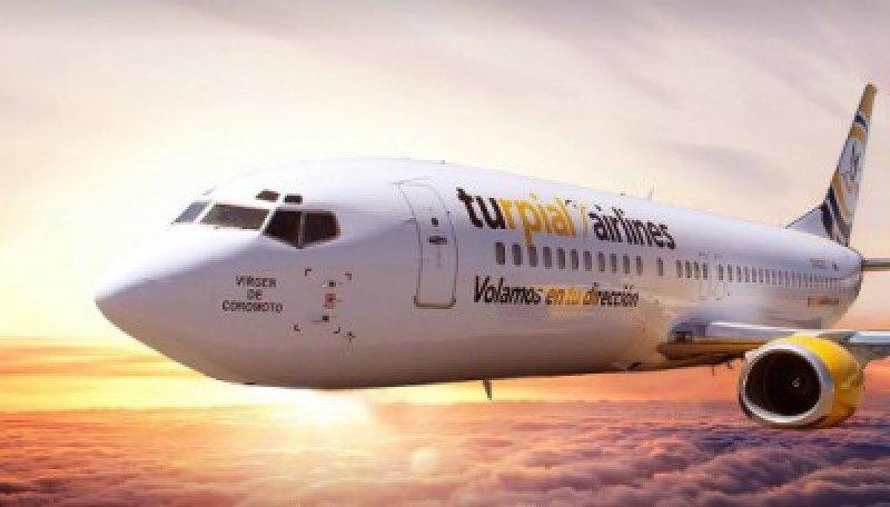 Aerolínea venezolana Turpial inicia vuelos semanales a República Dominicana