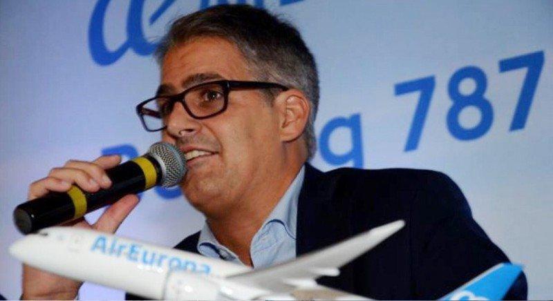 Diego García, ex Aerolíneas Argentinas, es el nuevo delegado general para América de Air Europa.