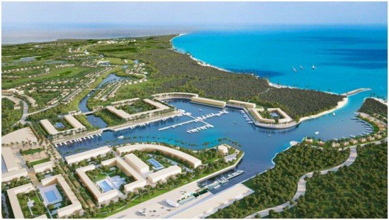 'Punta Colorada Cuba Golf Marina' contará con 1.250 habitaciones en tres hoteles, más de 1.700 unidades entre villas, apartamentos y bungalows, y una marina con capacidad para 300 atraques
