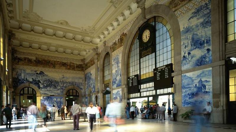 Estação de São Bento. Foto: Visit Portugal.