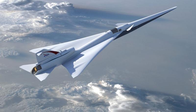 Ilustración de la aeronave de demostración de vuelo de bajo impacto acústico de la NASA, según la revisión preliminar del diseño (Foto: NASA/ Lockheed Martin).