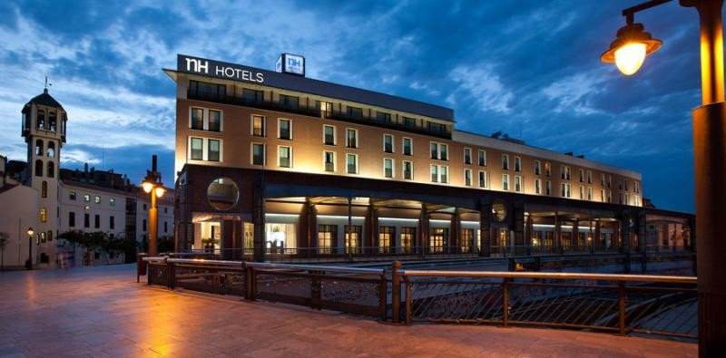 El NH Málaga fue uno de los activos hoteleros más relevantes adquiridos por la socimi el año pasado.