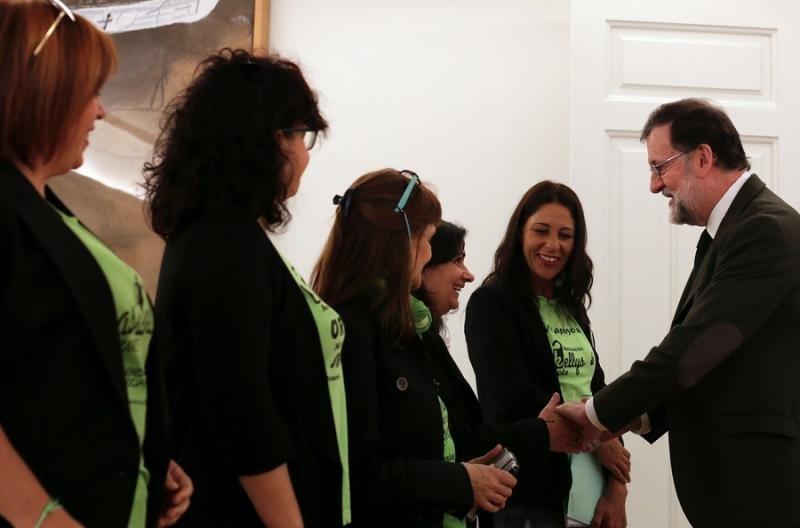 """Las Kellys salen """"con buen sabor de boca"""" de la reunión con Rajoy"""