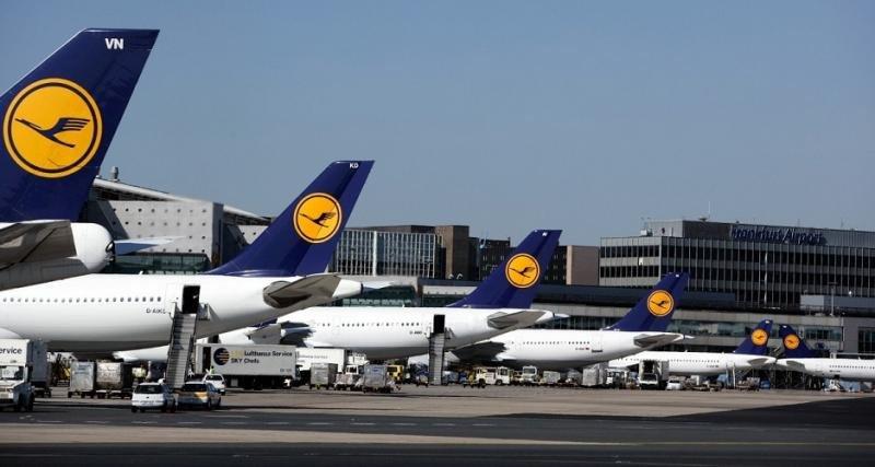  Lufthansa cancela 800 vuelos por las huelgas en cuatro aeropuertos