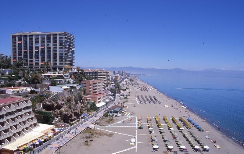 Playa del Bajandillo, en Torremolinos (Málaga).