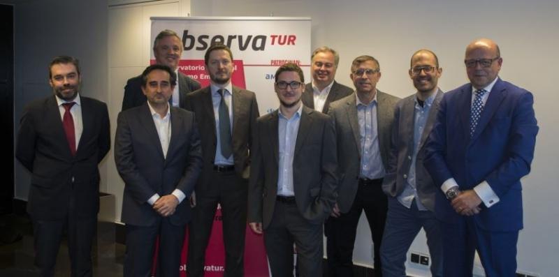 Representantes de las entidades impulsora de ObservaTur.