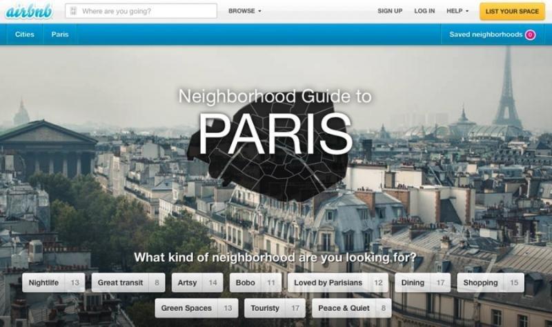 París lleva a Airbnb a a los tribunales