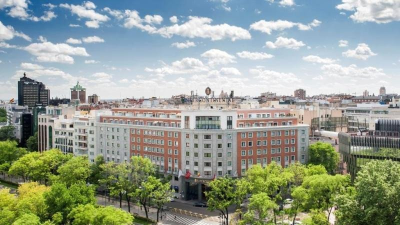 El hotel InterContinental Madrid.