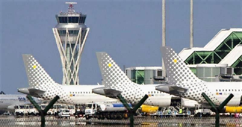 Primera huelga de pilotos en Vueling.
