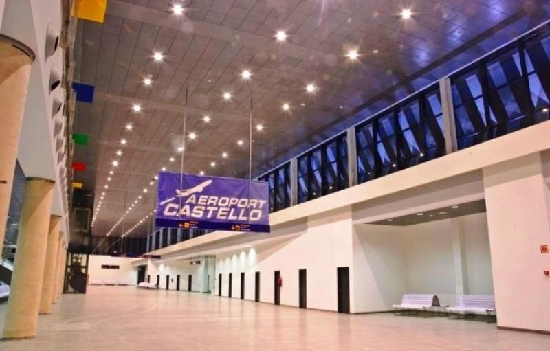 Castellón supera en tráfico de pasajeros a 14 aeropuertos de Aena